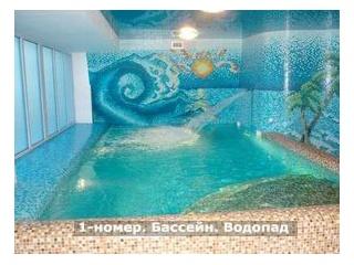 Уфа - В новостройках - действующая сауна «Центр здоровья «Приозерный»»  в микрорайоне «Сипайлово», помещение общей площадью 336,7  кв.м.  1-й зал состоит из 2 комнат отдыха с TV, финской сауны до 9 посадочных мест, 2 душевы